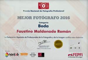 Mejor Fotografo 2016