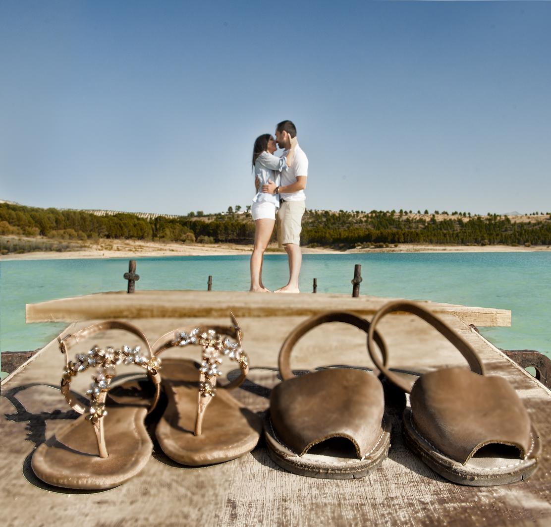 Fotografías pre-boda, zapatos