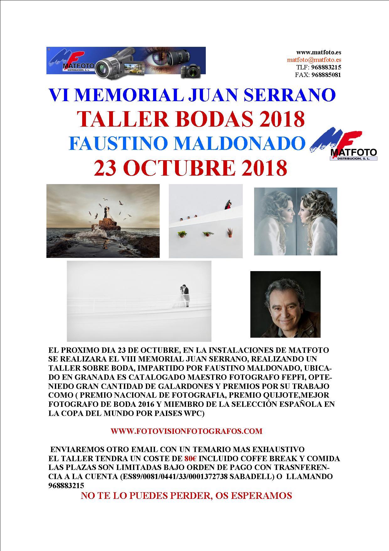 VI Memorial Juan Serrano