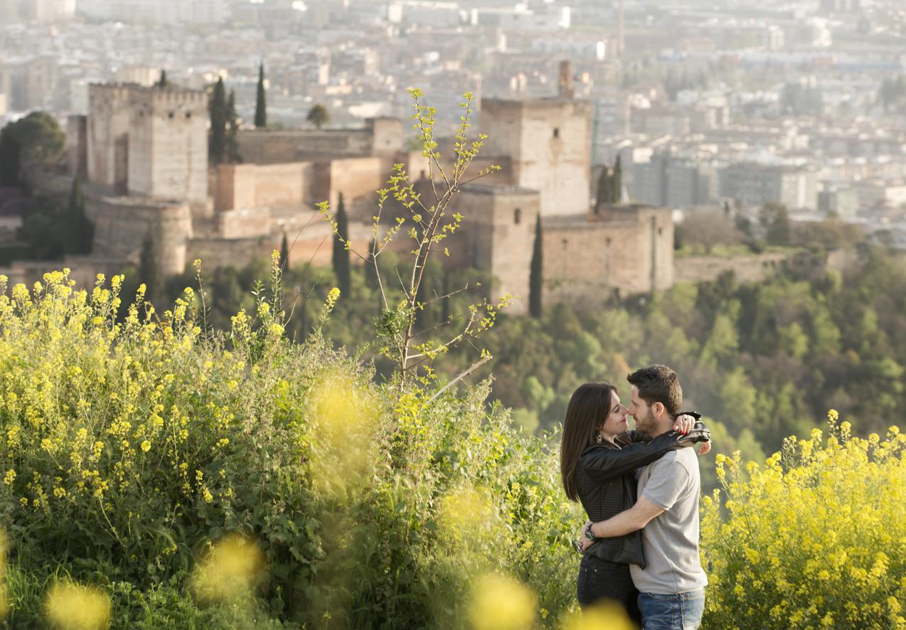 Fotografías con Alhambra