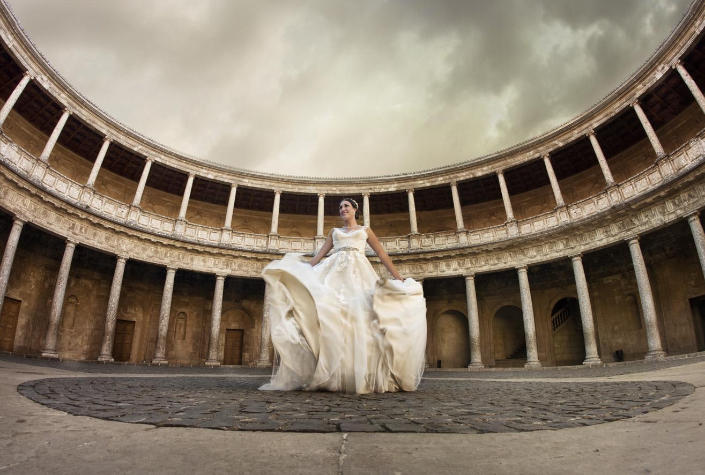 Post-boda Granada Palacio Carlos V