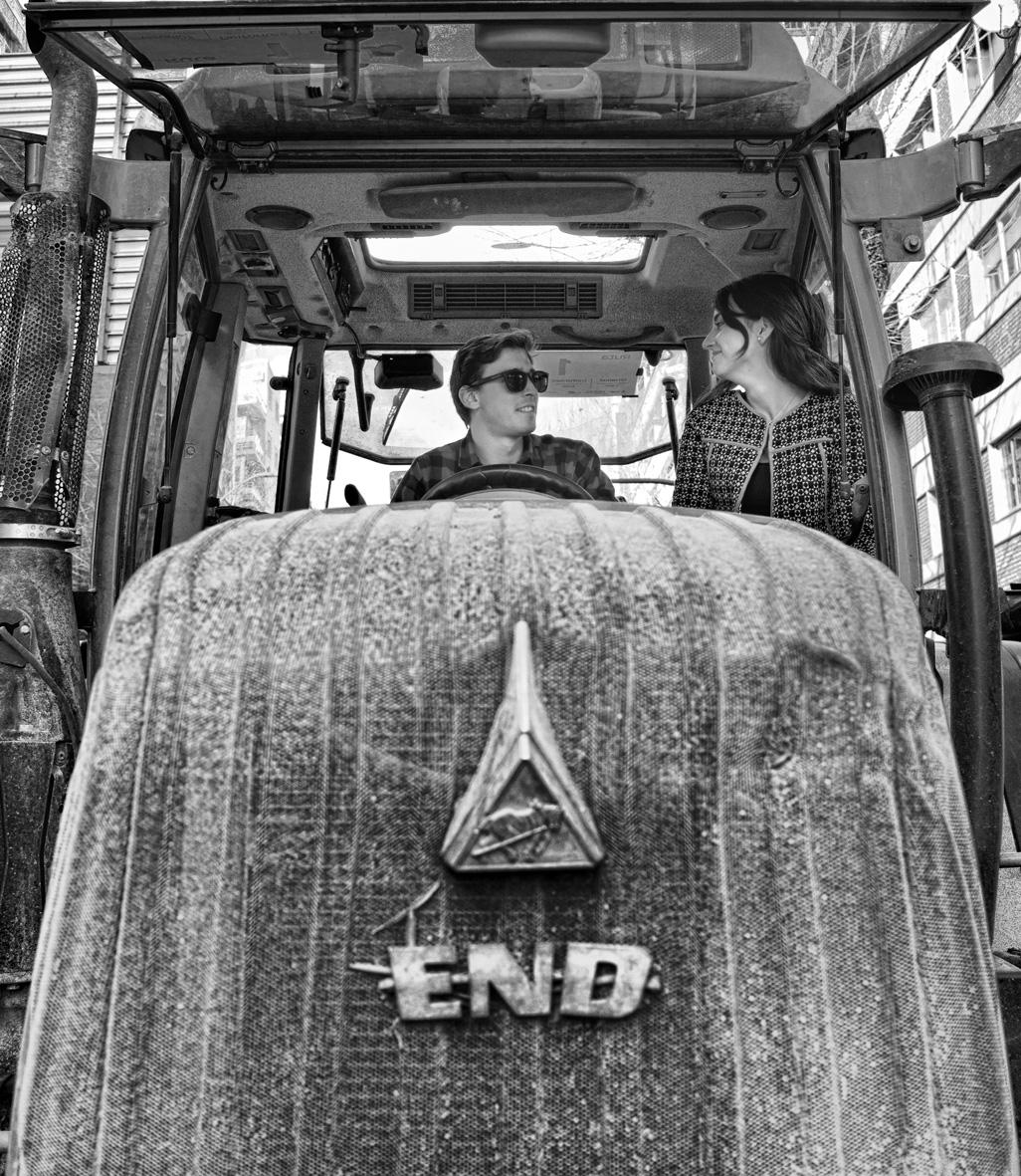 Manifestación del olivar tractores 20